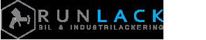 Runlack-Bil & Industrilackering Logo